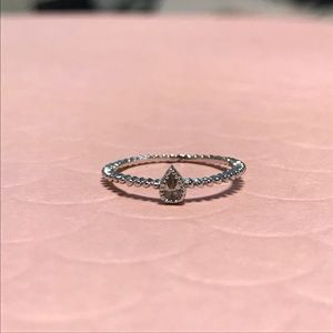 🌟 Teardrop 💧 Midi Ring